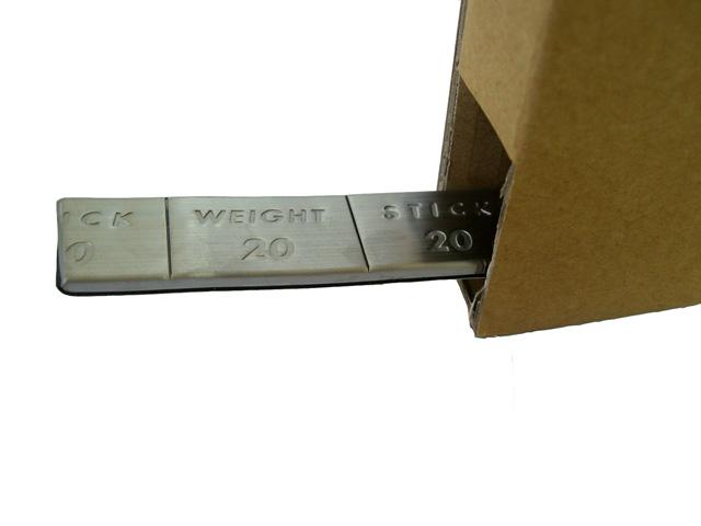 ロールウエイト (黒テープ) 20g刻み   5kg入