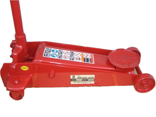 マサダ 2トン ガレージジャッキ SJ-20S-3(手動式)